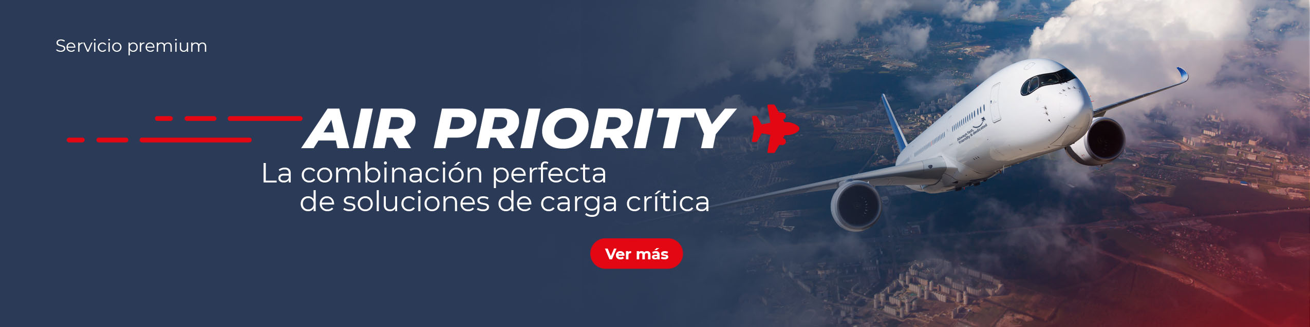 AIR PRIORITY La combinación perfecta de soluciones de carga crítica