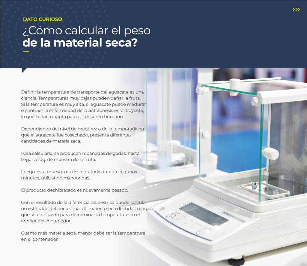 Cómo calcular el peso de la material seca?